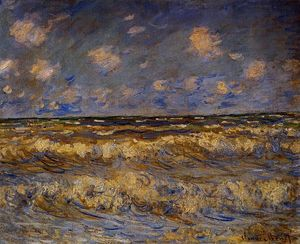 Claude Monet - Rough Sea