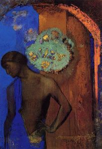 Odilon Redon - Saint John (also known as The Blue Tunic)