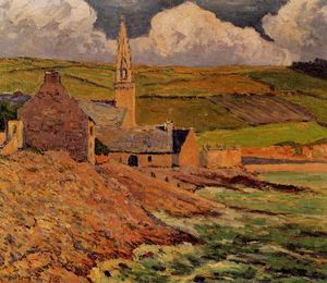Maxime Emile Louis Maufra - Saint Michel's Church