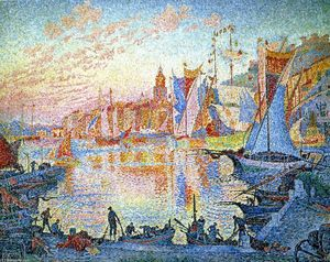 Paul Signac - Saint-Tropez