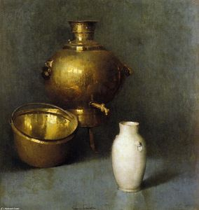 Soren Emil Carlsen - The Samovar