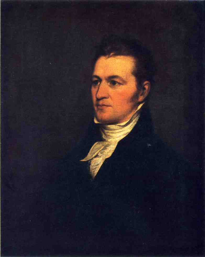 Samuel Miles Hopkins, Oil On Canvas by John Trumbull (1756-1843, United Kingdom)
