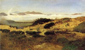 William Keith - Sand Dunes and Fog, San Francisco