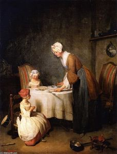 Jean-Baptiste Simeon Chardin - Saying Grace