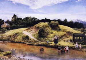 William Dyce - Scene in Arran