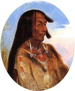 Alfred Jacob Miller - Schim-A-Cho-Che, Crow Chief