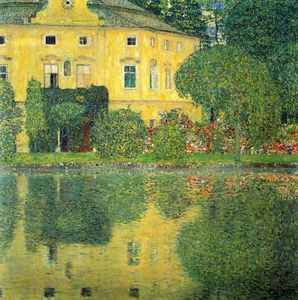 Gustav Klimt - Schloss Kammer on the Attersee IV