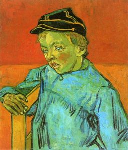 Vincent Van Gogh - The Schoolboy (Camille Roulin)
