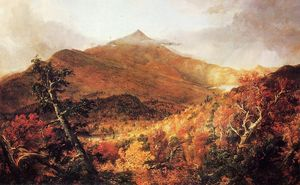 Thomas Cole - Schroon Mountain, Adirondacks, Essex County, New York, after a Storm