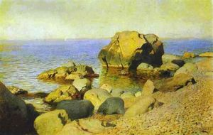 Isaak Ilyich Levitan - Seashore. The Crimea