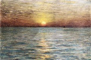 Dwight William Tryon - The Sea: Sunset