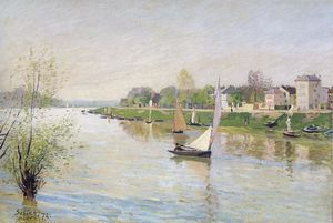 Alfred Sisley - The Seine at Argenteuil