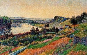 Maximilien Luce - The Seine at Herblay