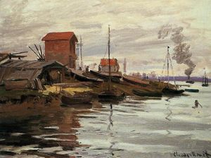 Claude Monet - The Seine at Le Petit-Gennevilliers
