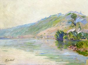 Claude Monet - The Seine at Port-Villes, Clear Weather