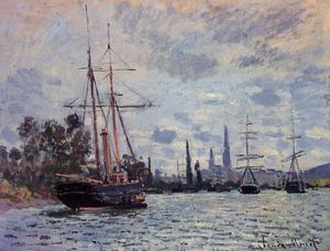 Claude Monet - The Seine at Rouen