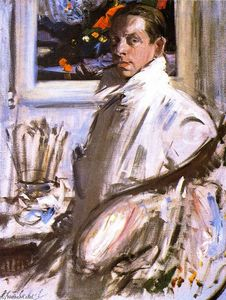 Francis Campbell Boileau Cadell - Self Portrait