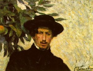 Umberto Boccioni - Self Portrait (also known as As a Young Man)