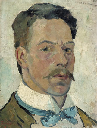 Self portrait, 1913 by Theo Van Doesburg (1883-1931, Netherlands) | Oil Painting | WahooArt.com