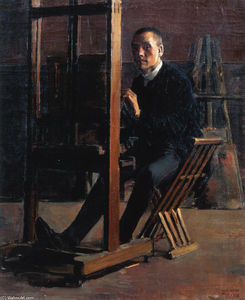 Akseli Gallen Kallela - Self-Portrait at the Easel
