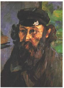 Paul Cezanne - Self-Portrait in a Casquette