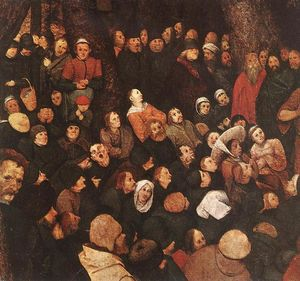 Pieter Bruegel The Elder - The Sermon of St John the Baptist (detail) (8)