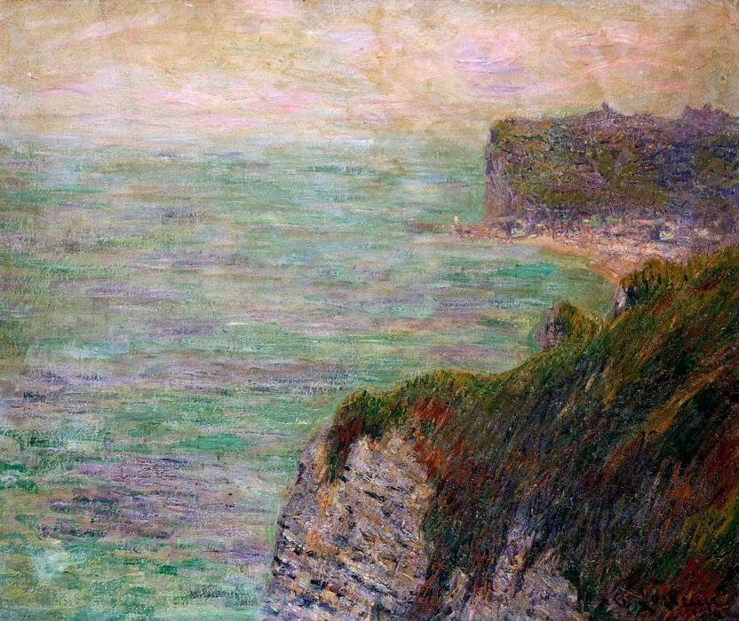 Shadows on the Sea by Gustave Loiseau (1865-1935, France) | Oil Painting | WahooArt.com