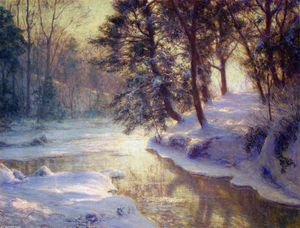 Walter Launt Palmer - The Shining Stream