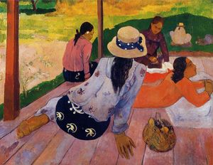 Paul Gauguin - The Siesta