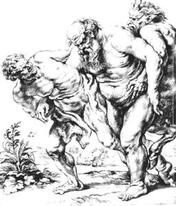 Peter Paul Rubens - Silenus (or Bacchus) and Satyrs