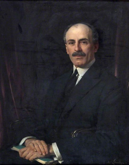 Sir Evan Williams, 1923 by Samuel Henry William Llewellyn | Museum Quality Reproductions | WahooArt.com