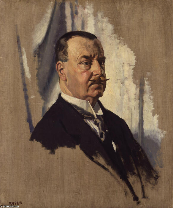 Sir Joseph George Ward by William Newenham Montague Orpen (1878-1931, Ireland) | Museum Quality Reproductions | WahooArt.com