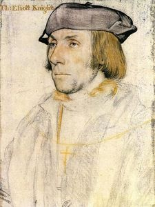 Hans Holbein The Younger - Sir Thomas Eliot