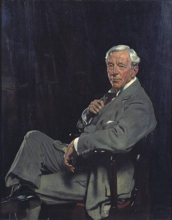Sir William McCormick, Oil On Canvas by William Newenham Montague Orpen (1878-1931, Ireland)