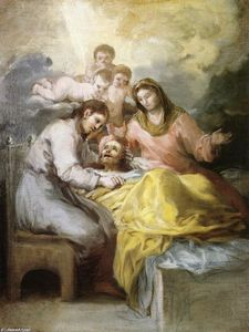 Francisco De Goya - Sketch for The Death of Saint Joseph