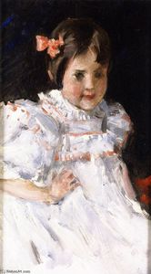William Merritt Chase - Sketch of a Child (also known as Portrait of Dorothy)