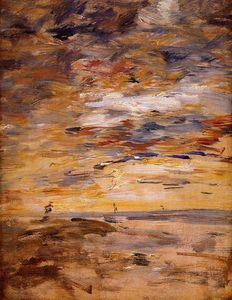 Eugène Louis Boudin - Sky at Sunset