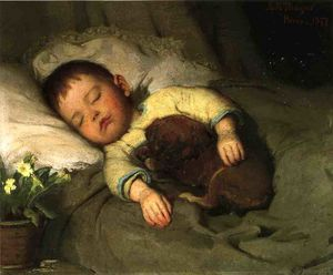 Abbott Handerson Thayer - Sleep