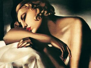 Tamara De Lempicka - The Sleeper