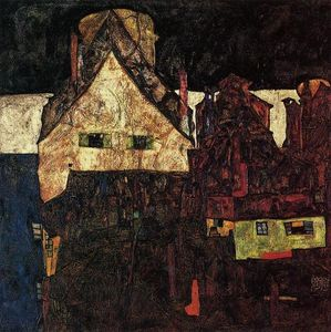 Egon Schiele - The Small City I (also known as Dead City VI)