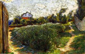 Marie Bracqemond - Small Landscape with House