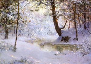 Walter Launt Palmer - Snow-Laden