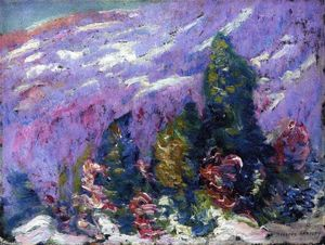 Marsden Hartley - Songs of Winter #4