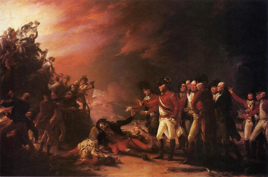 The Sortie Made by the Garrison of Gibralter, Oil On Canvas by John Trumbull (1756-1843, United Kingdom)