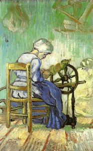 Vincent Van Gogh - The Spinner (after Millet)