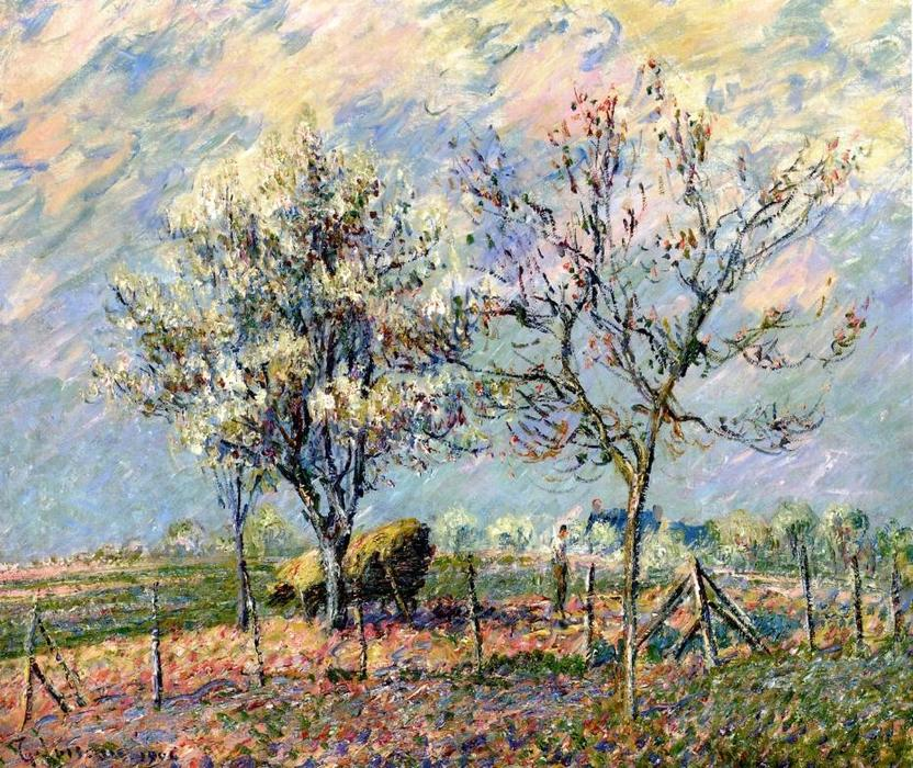 Spring, 1906 by Gustave Loiseau (1865-1935, France) | Oil Painting | WahooArt.com