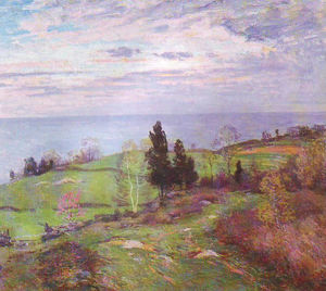 Willard Leroy Metcalf - Spring at Leete's Island