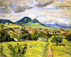 Max Slevogt - Spring in the Palatinate