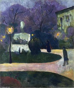 Paul Serusier - Square with Street Lamp