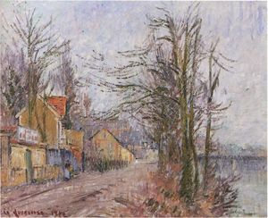 Gustave Loiseau - Stand of Trees in Pontoise